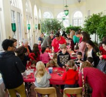 Holiday Family Day: Santa, Crafts, and a Magic Show