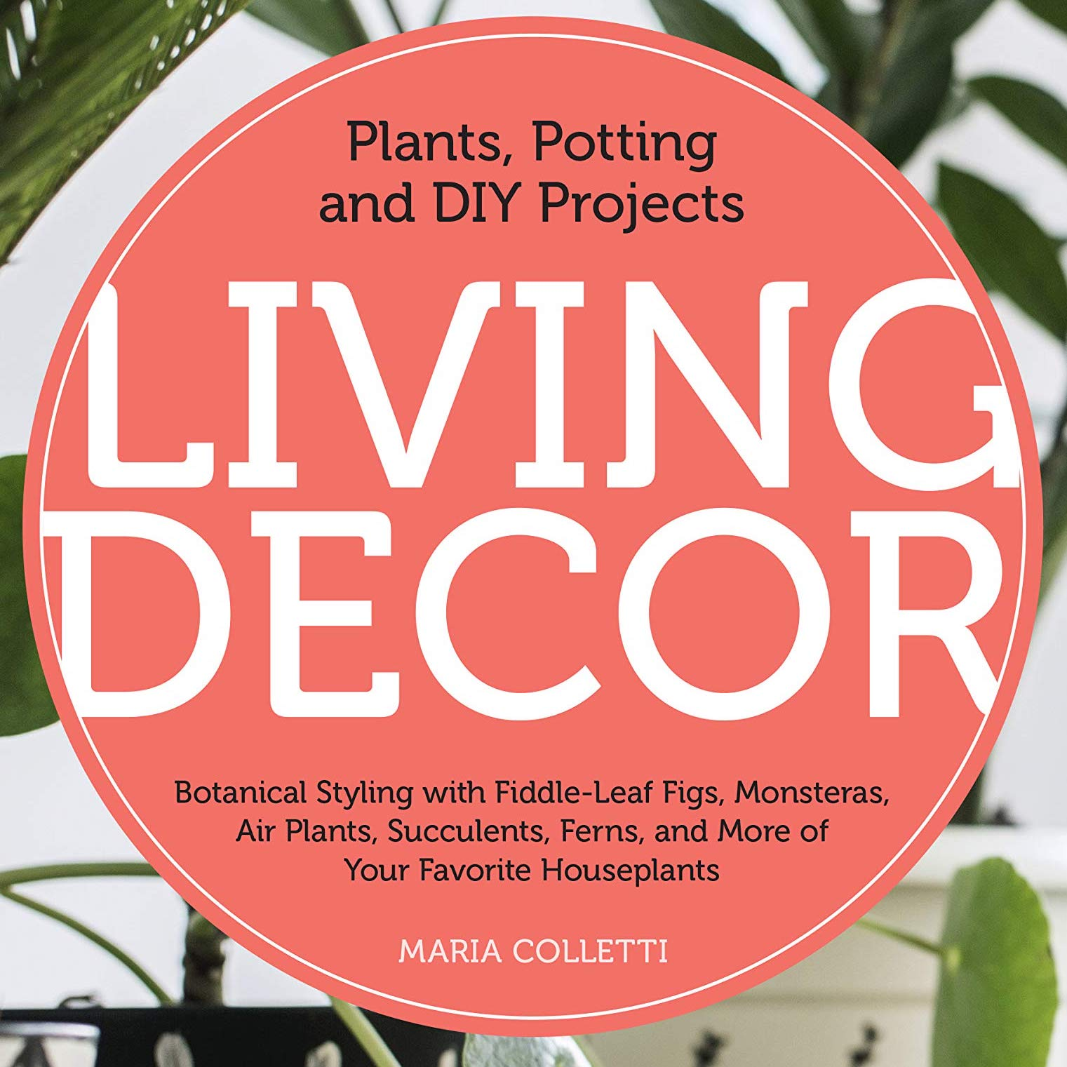 Living Decor: Plants, Potting and DIY Projects, A book talk with Maria Colletti